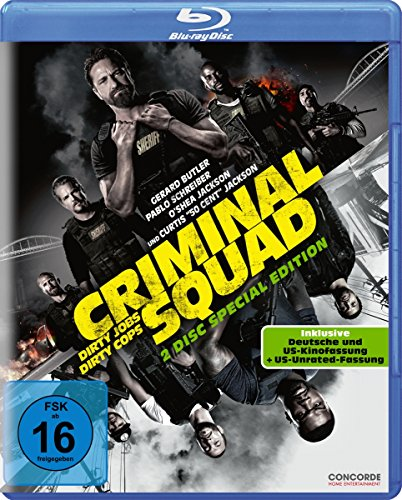 Criminal Squad (2-Disc-Blu-ray incl. dt. und US-Kinofassung & US Unrated Fassung) [Blu-ray]