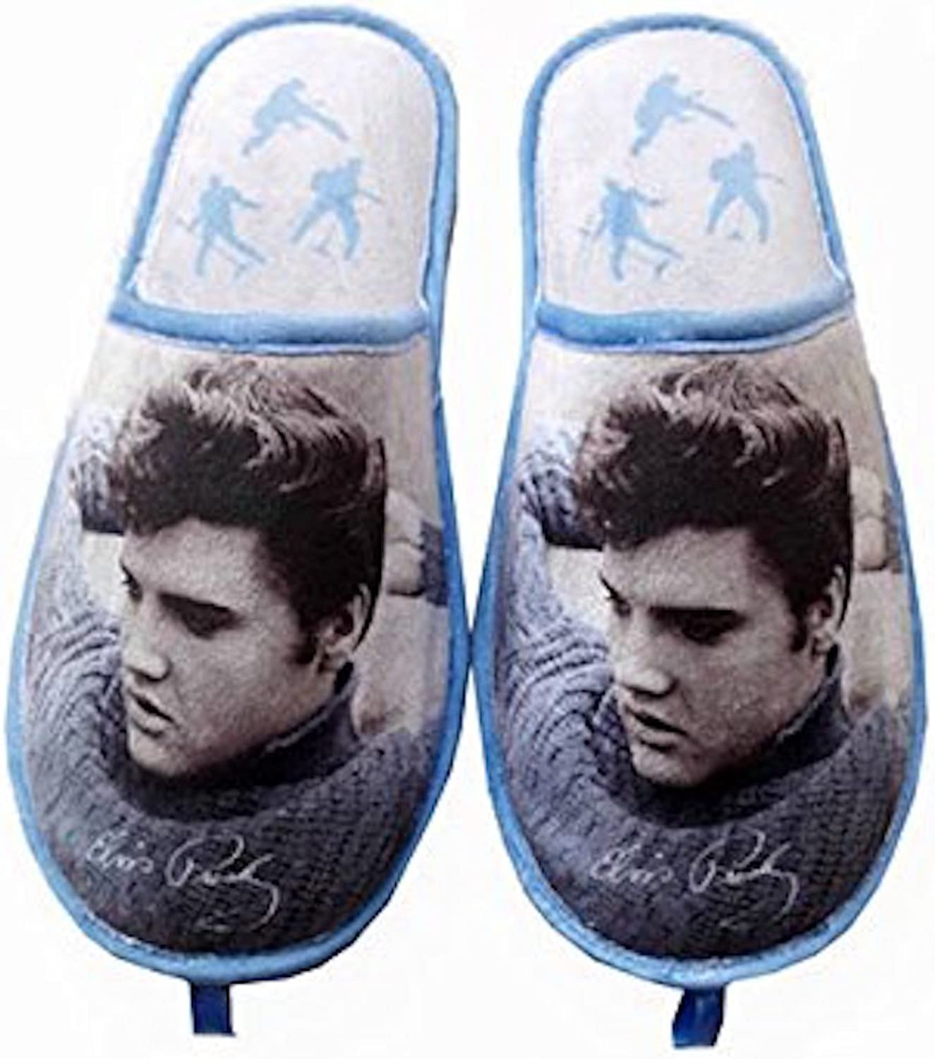 Midsouth Products Elvis Presley Slippers bluee Sweater - One Size Fits Most