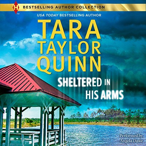 Sheltered in His Arms audiobook cover art