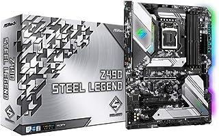 ASRock Z490 Steel Legend Supports 10 th Gen and future generation Intel Core TM Processors (Socket 1200) motherboard