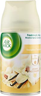 Air Wick Fresh Matic automatisk spray, vanilj och vitt te, 2 burkar