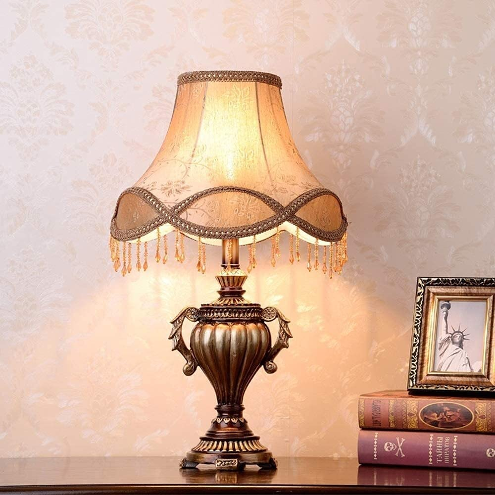 Hangarone Table Lamps European-Style Bedside Bedroom Limited price sale Boston Mall Lamp