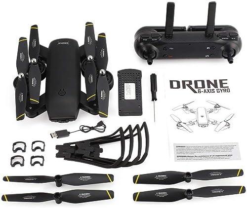 moda GreatWall SG700 RC RC RC 2.4G - Cuadricóptero FPV con cámara HD (Wi-Fi, 720 píxeles), Color negro  promociones de equipo