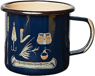United By Blue - 12oz Enamel Steel Mug