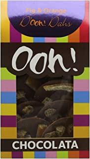 Ooh! Chocolata Fig And Orange D'ooh! Dahs Milk Chocolate Discs, (1 Pack)
