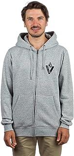 Volcom Men's Supply Stone Zip Hoodie, Men, A4831804, Storm, S 海外卖家直邮