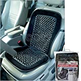 BARGAINS-GALORE BEADED CAR SEAT COVER MASSAGING RELAX UNIVERSAL TAXI VAN FRONT CHAIR CUSHION NEW