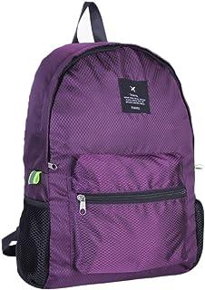 Outflower - Mochila de viaje, plegable, mochila casual de moda, fácil de plegar y práctica