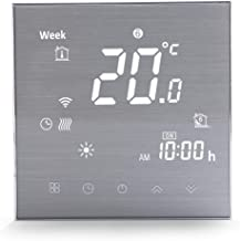 Wifi Smart Thermostat Gas/Water Boiler Heating-Programmable Wifi Thermostats for Home(2019Update)Wireless Digital Temperature Controller, Remote Control Room Thermostat Works with Alexa Google Home 3A