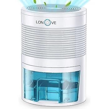 Kitchen Bedroom Bathroom Closet Portable Dehumidifiers for Home KEDSUM Electric Mini Dehumidifier Small Dehumidifier 150 sq ft 1200 Cubic Feet Basement 16 oz Capacity