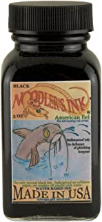 Bulletproof EEL Noodler's Fountain Pen Ink-Black