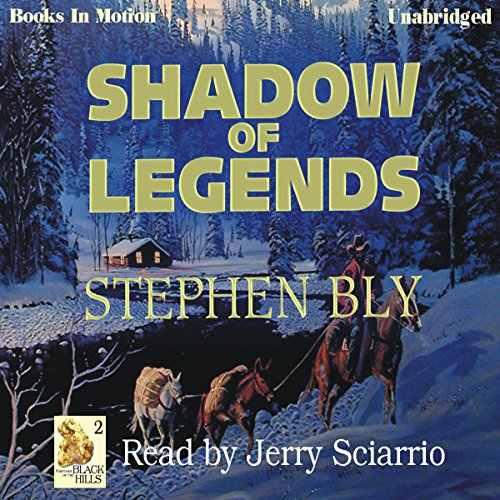 Shadow of Legends audiobook cover art