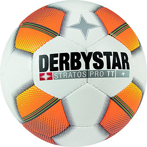 Derbystar Stratos Pro TT, 5, weiß orange gelb, 1125500175