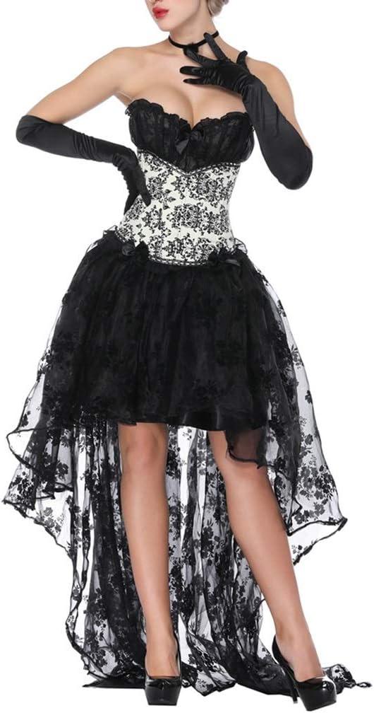 ZAYZ Women's San Jose Mall Fees free!! Overbust Corset Dress Cosplay Of Clubwear Costumes