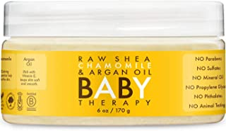 Shea Moisture Baby Therapy, Raw Shea Butter, Argan Oil & Extracts Of Frankincense & Myrrh, 6 Ounce