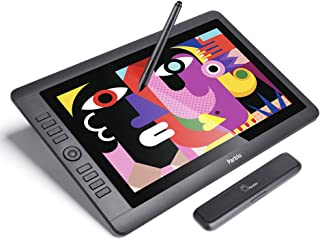 Parblo Coast16 Pen Display Tablets 15.6 Inches Drawing Monitor with 8192 Levels Battery-Free Pen for Digital Art Works, Design, Sketch, Paint, Drawing, Works with Windows Mac OS