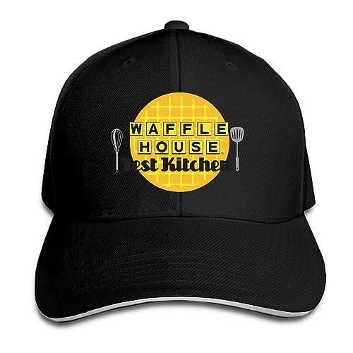 Cool Waffle House Fast Food Baseball Hip-Hop Cap