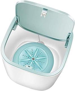 Mini tvättmaskin, Ultraljud bärbar Mini Turbo tvättmaskin med USB-strömförsörjning, för små tvättmaskiner för barn