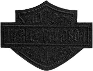 black harley riders patch