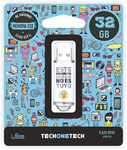 Techonetech PENDRIVE 32GB NOESTUYO