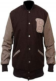 Mens Hotline Miami Appealing Flight Bomber Varsity Woolen Jacket