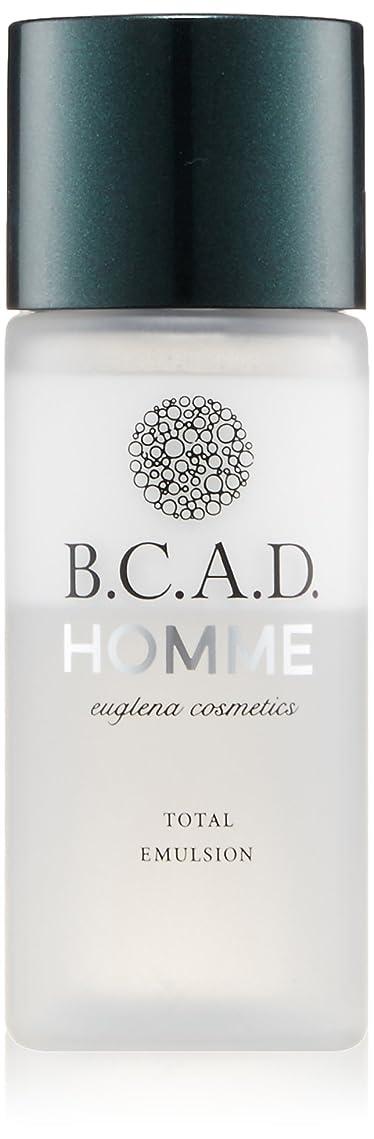 教える過半数鏡ビーシーエーディーオム B.C.A.D.HOMME HOMMEトータルエマルジョン 30ml
