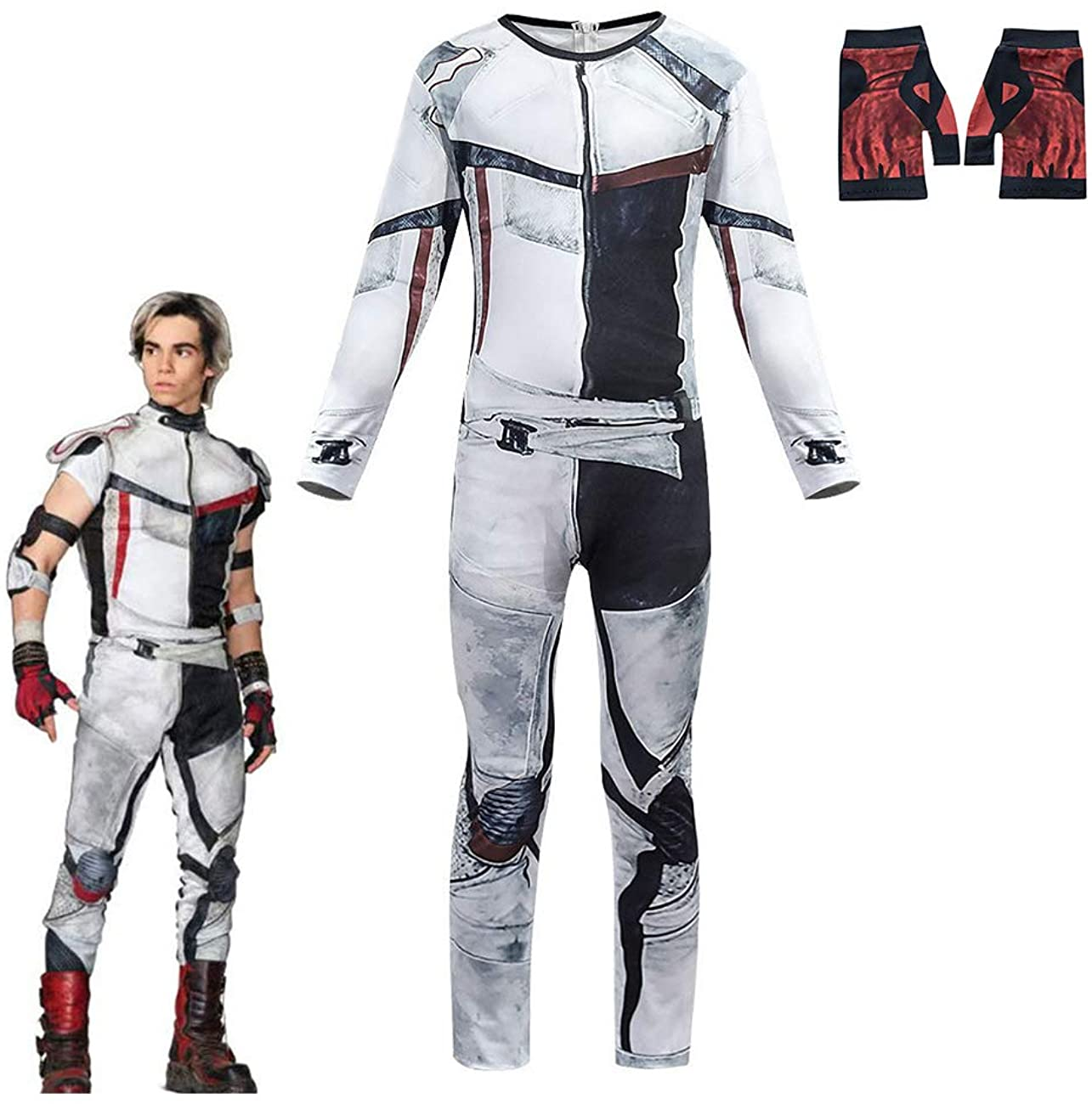 Jay SALENEW very popular Carlos Descendants 3 Costumes for Boys Ch Halloween Jumpsuit Limited price sale