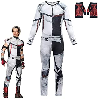 VARWANEO Jay Carlos Descendants 3 Costumes for Boys Jumpsuit Bodysuit Halloween Christmas Cosplay Costume Outfits