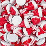 Hershey's Kisses Santa Hat Wrap - Individually Wrapped Chocolate in Red and Silver Foil- Hershey Christmas Candy - Christmas Candy Bulk (5 Pounds)