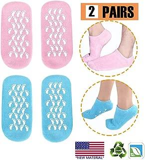 Moisturizing Socks, Gel Socks Soft Moisturizing Gel Socks, Gel Spa Socks For Repairing..