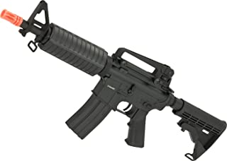 Evike - CYMA Full Metal M4 Commando Airsoft AEG Rifle w/LPO Ready Gearbox