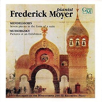 Works by Mendelssohn & Mussorgsky