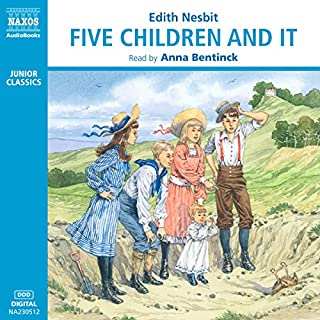 Five Children and It                   Written by:                                                                                                                                 E. Nesbit                               Narrated by:                                                                                                                                 Anna Bentinck                      Length: 2 hrs and 34 mins     Not rated yet     Overall 0.0
