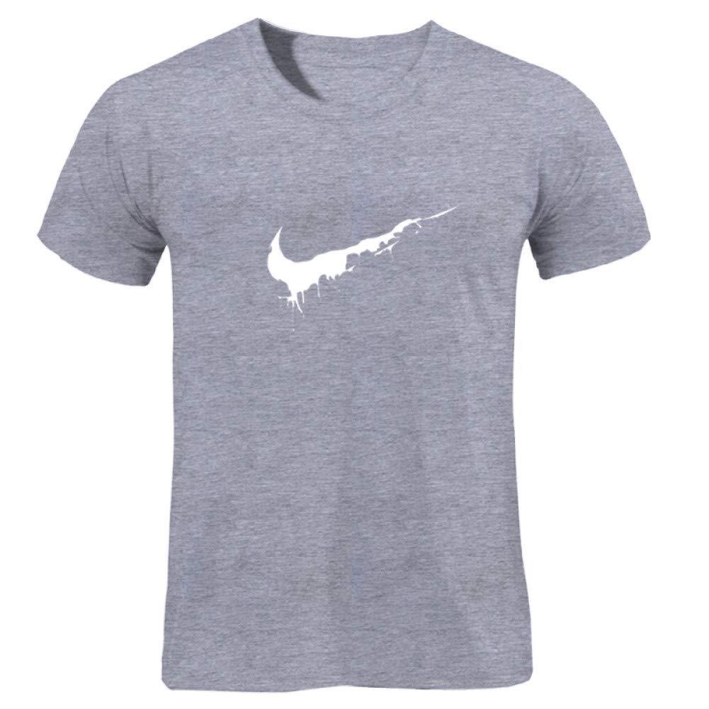 GKKYU Camiseta Hombre Algodón Camisetas Casual Camiseta Skateboard de Verano Camiseta de Skate Boy Tops Gráficos Personalizados Break It Easy: Amazon.es: Deportes y aire libre