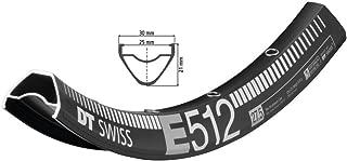 DT Swiss E 512 Rim 27.5'' ISO 584 32H Double wall Pinned Presta Black
