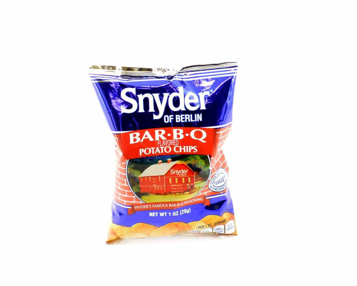 Snyder of Berlin BAR-B-Q Barbecue Potato 1 Free Shipping Cheap Bargain Import Gift - oz. Chips 72 Bags