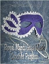 Royal Mardi Gras Mask Crochet Pattern