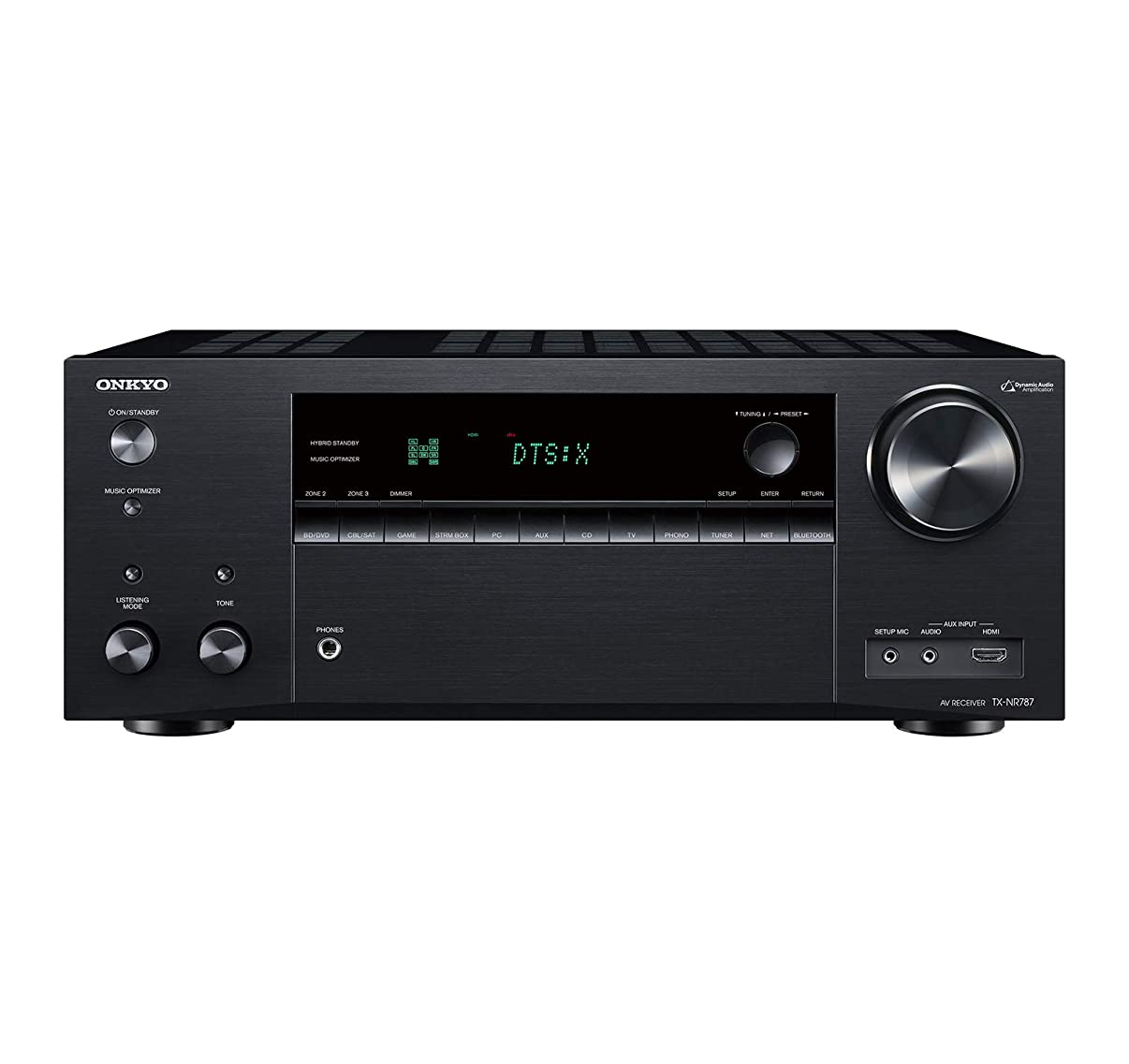 Onkyo THX Audio & Video Component Receiver - Black TX-NR787 (Renewed)