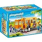 PLAYMOBIL City Life 9419 School Van for Children Ages 4+