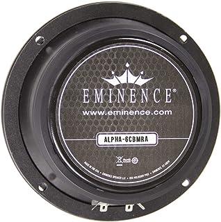 "Eminence American Standard Alpha-6CBMRA 6"" Midrange Pro Audio Speaker, 100 Watts at 8 Ohms"