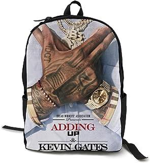 Kevin Gates Adding Up Unisex,lightweight,durable,school Backpack,multi-function Backpack,travel Backpack,school Bag