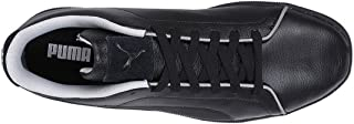 Puma Unisex's MAPM Court Perf Black-Mercedes Team Silver Leather Sneakers-11 UK/India (46 EU) (30618201)