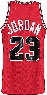 Legend Mens 23 Jersey Sports Youth Basketball Jerseys Retro Athletics Boy's Jersey Red(S-XXL)