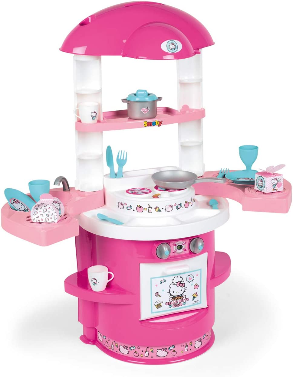 Smoby Hello Max 79% OFF Kitty – Cooky Kitchen with Child Accessories 17 for OFFicial shop
