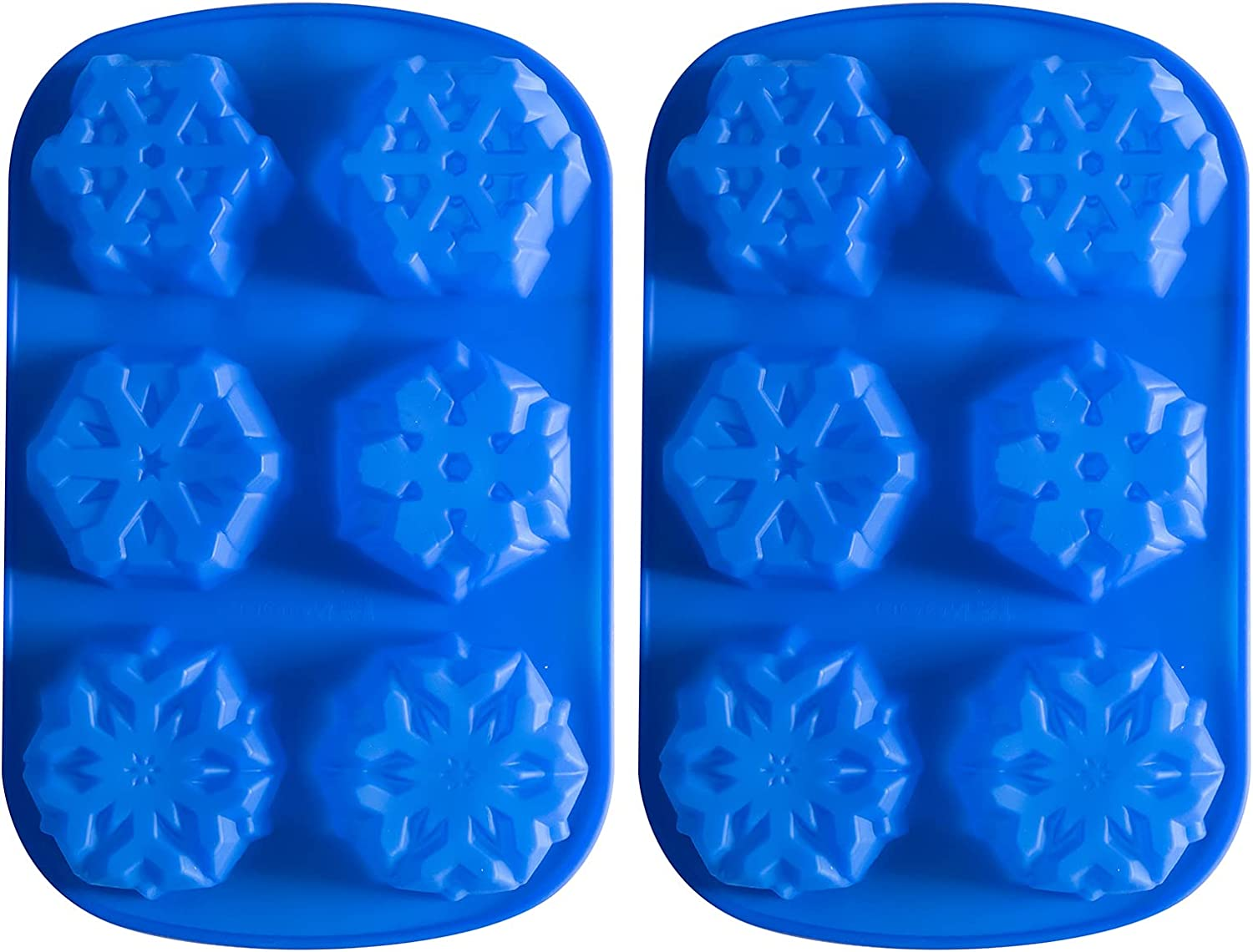 6 Free Shipping Cheap Bargain Gift Even Snowflakes Silicone New Free Shipping Cake Mold 2 Bath Bombs St Pack 4
