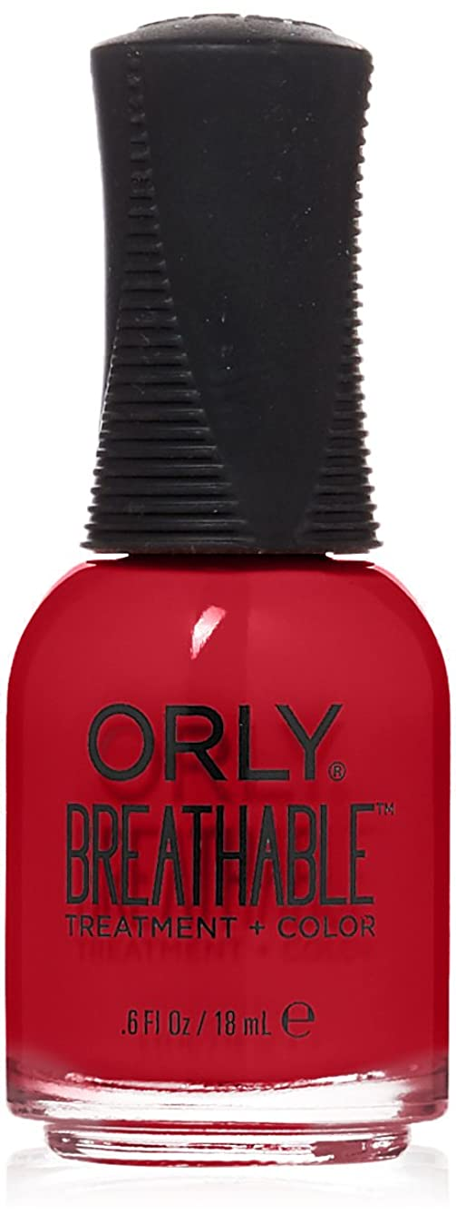 長さ人道的涙Orly Breathable Treatment + Color Nail Lacquer - Love My Nails - 0.6oz/18ml