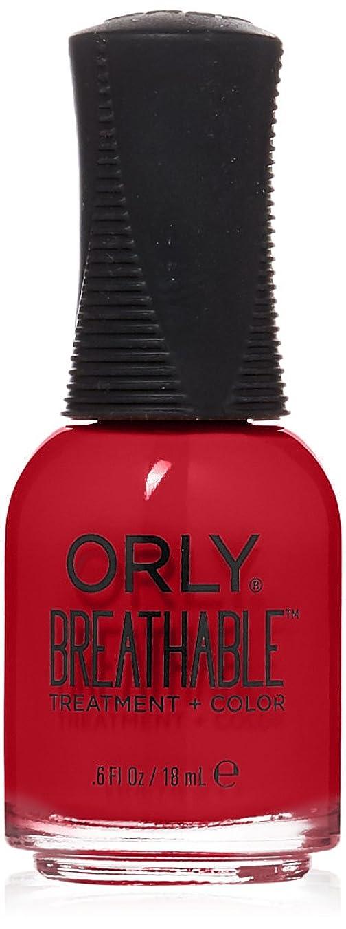 移住するコンチネンタル悪性のOrly Breathable Treatment + Color Nail Lacquer - Love My Nails - 0.6oz/18ml
