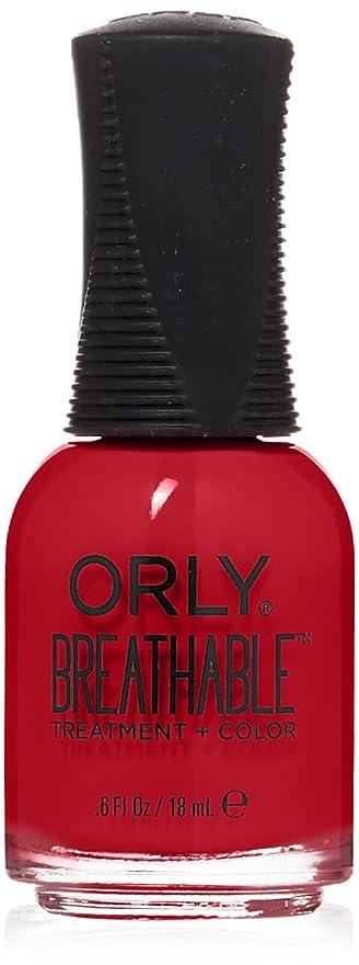 野菜日帰り旅行にホバーOrly Breathable Treatment + Color Nail Lacquer - Love My Nails - 0.6oz/18ml