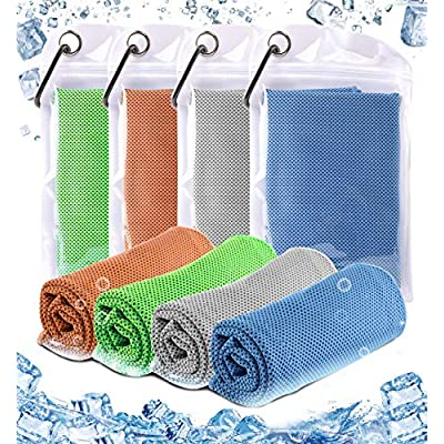 Cooling Towel - Chilly Microfiber Towel Ice Nec...