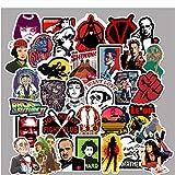 GYYNR 50pcs Adesivi Film Classici per Bagagli Laptop Art Pittura Fiction Adesivi Poster Giocattolo Skateboard Impermeabile